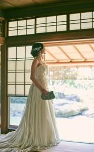 四季の丘石庭花嫁の佇まい